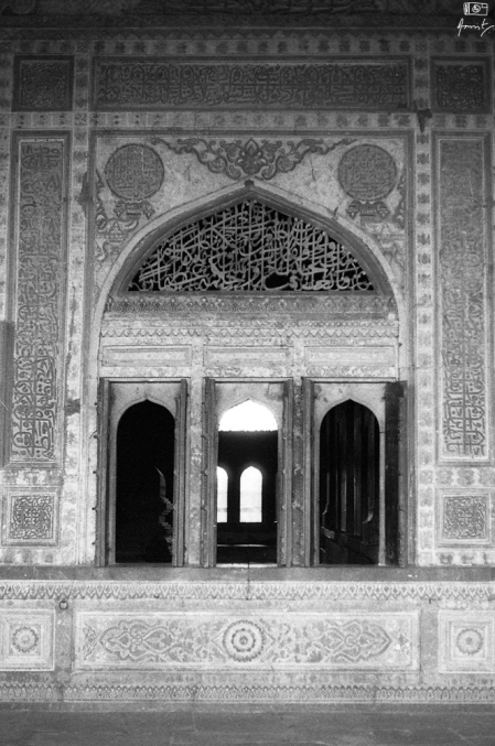 One of the windows of Ibrahim Rouza, Bijapur in Karnataka India. You can read more about Ibrahim Rouza here: https://amritpanigrahy.com/2017/06/28/dome-diaries-part-iii-two-and-a-half-tombs-and-other-things/