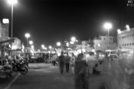 The Grand street of Puri in Odisha, India.