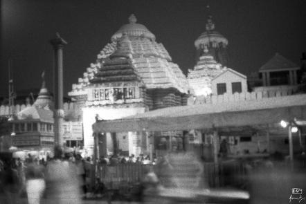 The Jagannath Temple, Puri in Odisha, India.