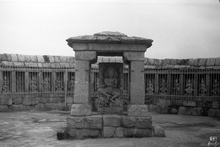 The 64 Yogini Temple, in Ranipur Jharial, Bolangir, Odisha, India. I shot this frame using my 35mm Canon FTb QL manual film SLR on an Ilford HP5 Plus 400.